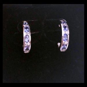 Jewelry - Tanzanite & Diamond Earrings